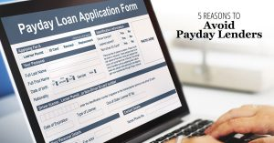 5 Reasons to Avoid Payday Lenders