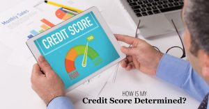 How Is My Credit Score Determined?